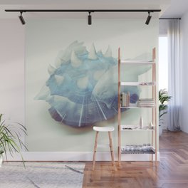 Blue Shell - Kart Art Wall Mural