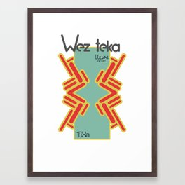 TiXa - Wezteka Union - 3 of 3 Framed Art Print