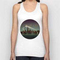 gotham Tank Tops featuring Gotham City by WyattDesign