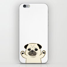 Hug Pug iPhone & iPod Skin