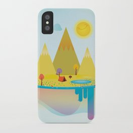 Camping Outdoors iPhone Case