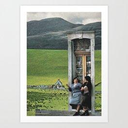 #105 Art Print
