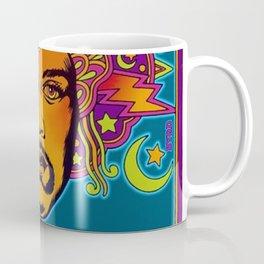 1968 Jimi Hendrix Experience Fillmore East San Francisco Concert Poster Coffee Mug