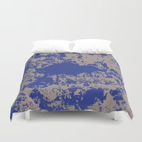 jay fleck Duvet Covers featuring mauer fleck by wolasek design