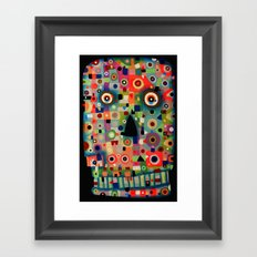 The Skull Framed Art Print