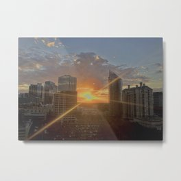 Sunset Over Buckhead Metal Print