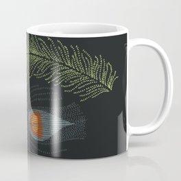 Prancing Peacock Coffee Mug
