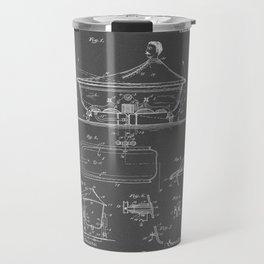 Rocking Oscillating Bathtub Patent Engineering Drawing Travel Mug