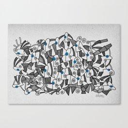 - fresque_02 - Canvas Print