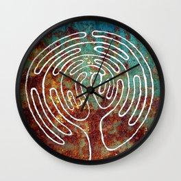 LIFE TREE. LABYRINTH Wall Clock