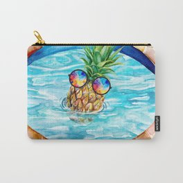 Chilling Pineapple Carry-All Pouch