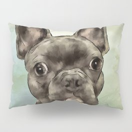 Frenchie Wants To Know Pillow Sham