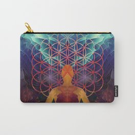 Flower Of Life (The Journey) Carry-All Pouch