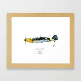 Messerschmitt BF 109 Framed Art Print