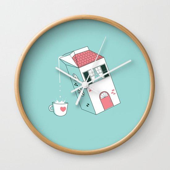 Housepour Wall Clock