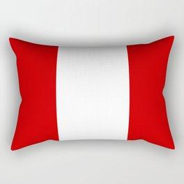 Flag of peru -Peruvian, Lima, latin america,america, quechua,aymara, andean, Arequipa,Piruw Rectangular Pillow