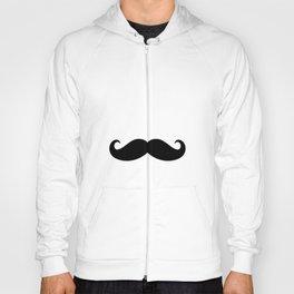 He Moustache Hoody