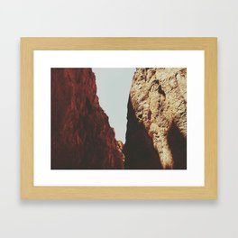 Big Bend Ranch State Park Small Canyon Framed Art Print