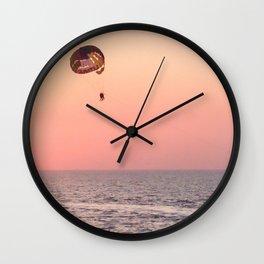 Sunny happiness Wall Clock