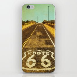 Route 66 Road Marker iPhone Skin