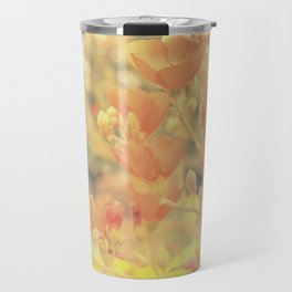 Warm Tones & Petals Travel Mug