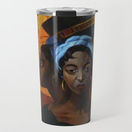 Classical African American Landscape 'Secret History of the Black Race' by Lois Jones Travel Mug