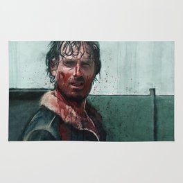 Don't Mess WIth Rick Grimes - The Walking Dead Rug