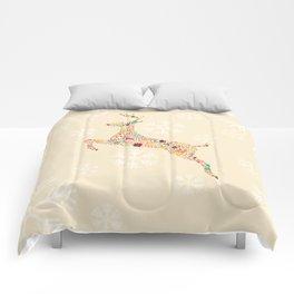 Christmas Reindeer 3 Comforters