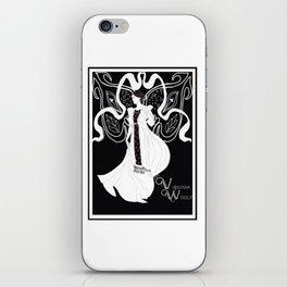 Virginia Woolf Art Nouveau iPhone Skin
