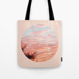 Texas Hill Country Sky - Sunrise 4 - Window Tote Bag