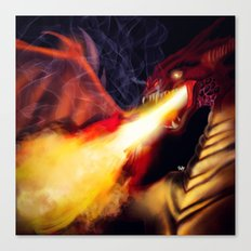 Fire Breather Canvas Print