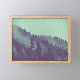 Adventure Awaits Forest Framed Mini Art Print
