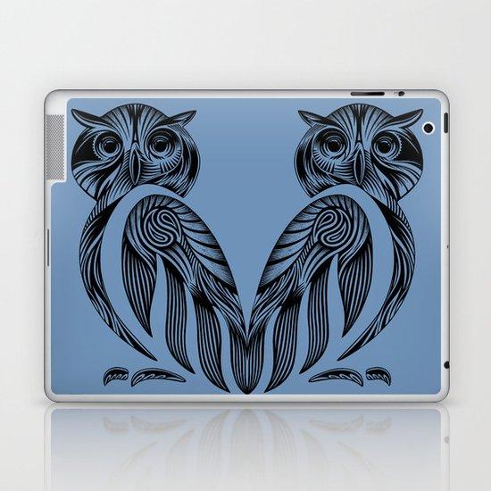 Tribal Owl Laptop & iPad Skin