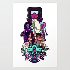 Know Your Fusion (Good Guys) Art Print