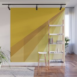 New Heights - Gold Wall Mural