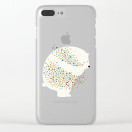 Hug Your Dreams Clear iPhone Case