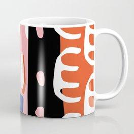 Abstract Drops Coffee Mug