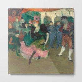 Henri de Toulouse-Lautrec - Marcelle Lender Dancing the Bolero in Chilperic Metal Print