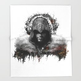 assassins creed ezio auditore Throw Blanket
