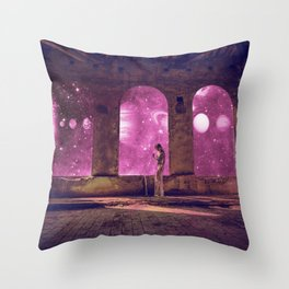 QUEEN OF THE UNIVERSE Throw Pillow