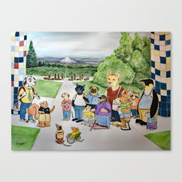 Heroes Journey Canvas Print