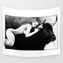 asc 881 - Le taureau (Queue choisir II) Wall Tapestry