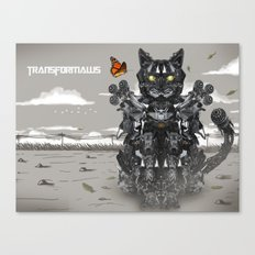 Transformaws Canvas Print