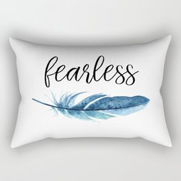 Fearless Rectangular Pillow