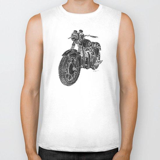 Vintage BSA Super Rocket Motorcycle Biker Tank