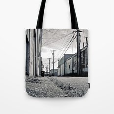 Old urban alley Tote Bag