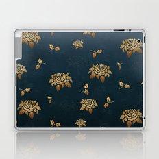 Golden Rose - Glitter Pattern Laptop & iPad Skin