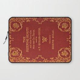 Vintage Sleeping Beauty Book Cover, Fairy Tale Laptop Sleeve