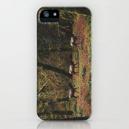 Rainforest Elk iPhone Case