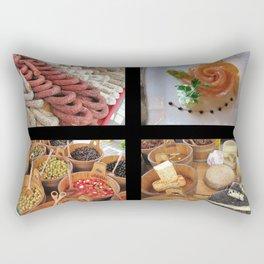 Switzerland Food 03 Rectangular Pillow